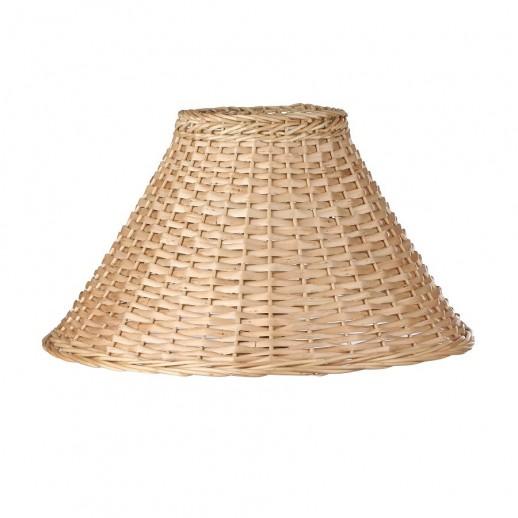 Абажур для настольной лампы из шелка/ натуральной лозы 135х350хН190, цвет на выбор