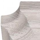 Бра Люберон основание прямоугольник выбеленный дуб с серой патиной, веревочный выключатель