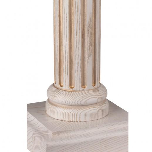 Лампа настольная Этна выбеленный дуб с золотой патиной