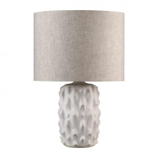 Лампа настольная Веркор выбеленный дуб с серой патиной