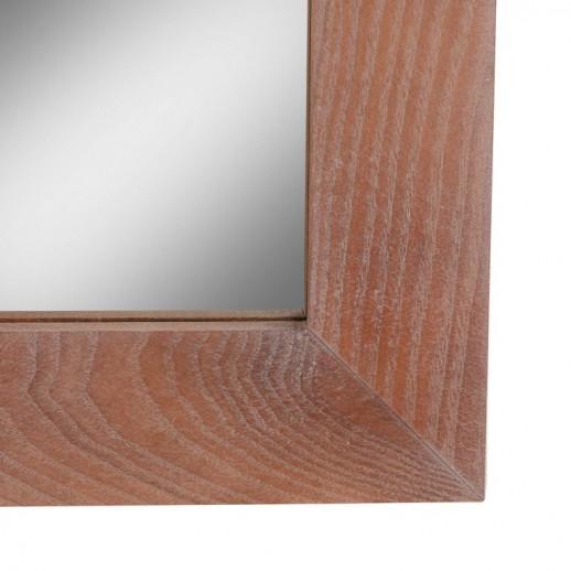 Зеркало прямоугольное дуб натуральный состаренный